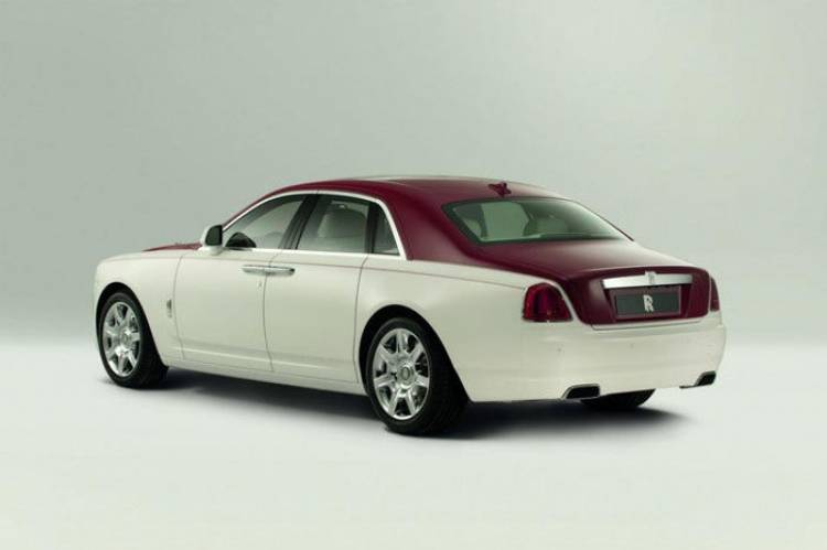 Rolls-Royce Ghost Qatar Edition
