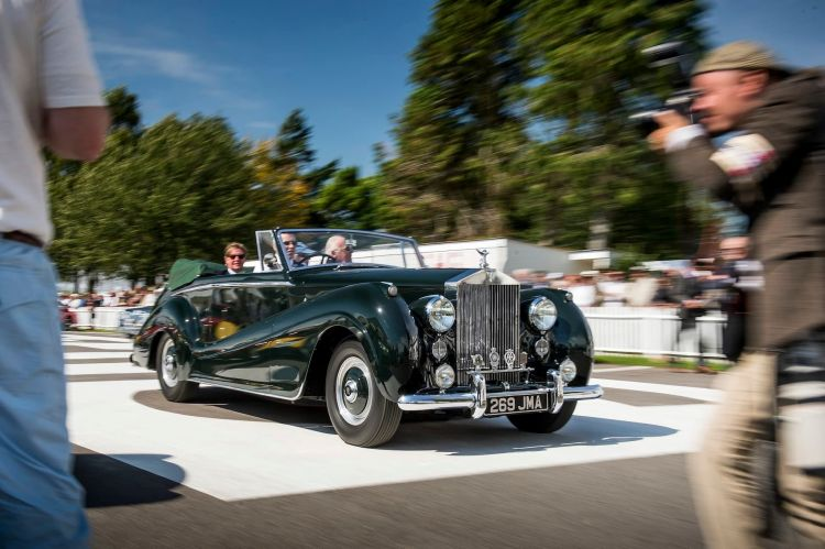 Goodwood Revival For Rolls Royce Motor Cars Photo: James Lipman