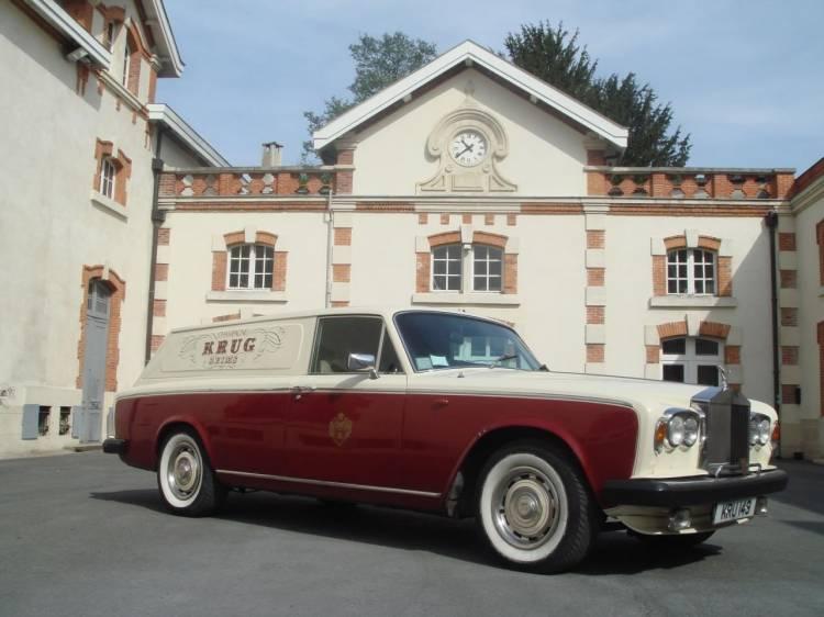 Rolls-Royce Silver Shadow II Krug Champagne