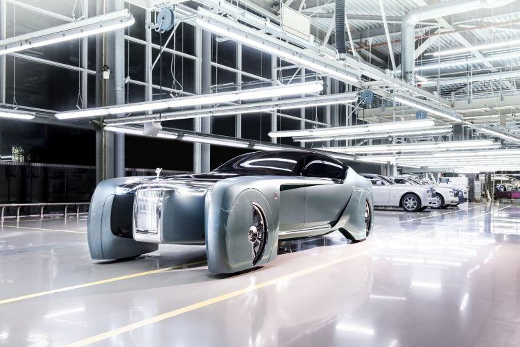 Rolls Royce Vision Concept, Goodwood Photo: James Lipman / Jameslipman.com