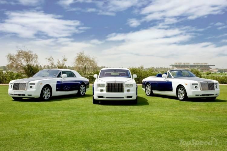 Rolls-Royce Phantom, Phantom Coupé y Phantom Drophead Coupé Yas Eagle