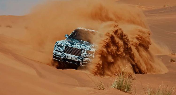 Rolls Royce Cullinan Video Dunas 0418 01