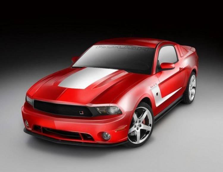 Más músculo americano: Roush 5XR Mustang