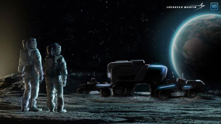 Rover Base Lunar Lockheed Martin Ilustracion