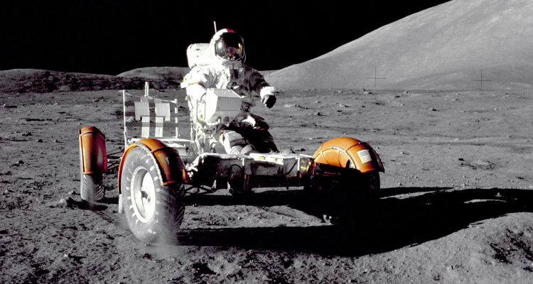 Rover Lunar Apollo 17 Eugene Cernan
