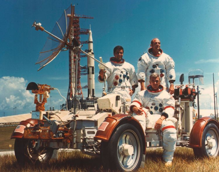 Rover Lunar Tripulacion Apollo 17