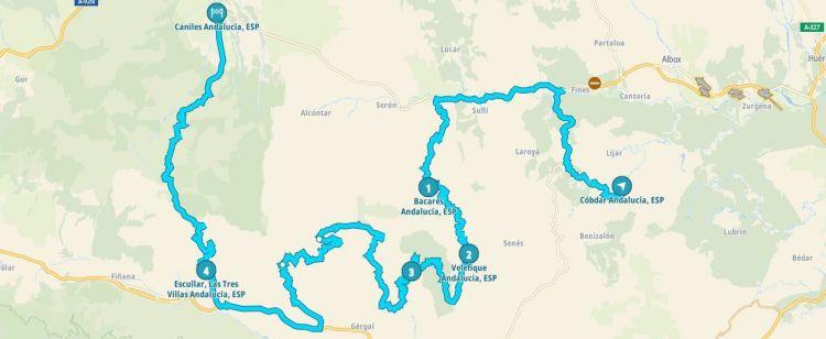 Rutas De Montana Almeria