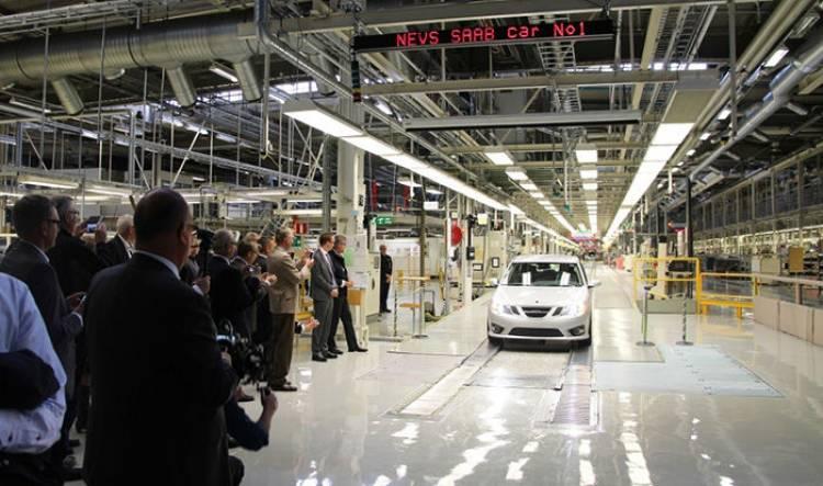 Saab vuelve, el lunes arranca de nuevo su producción
