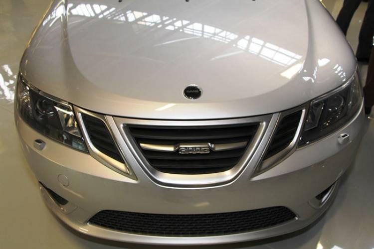 Saab 9-3 2013 en Trollhättan