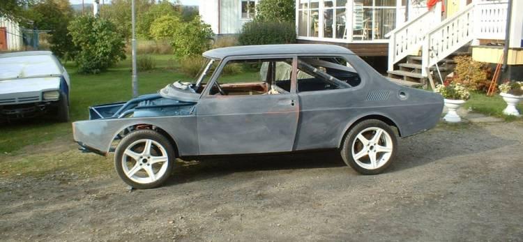 700-hp Saab 99