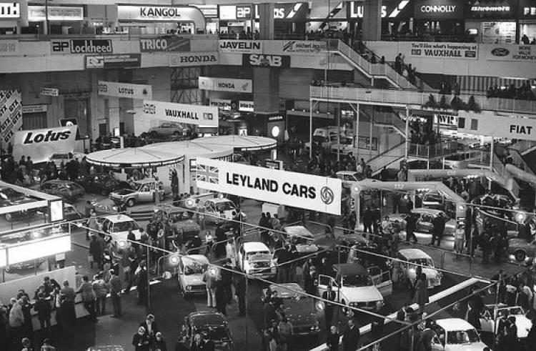 Salón de Londres 1976