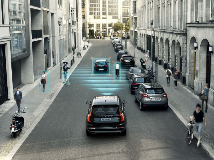 The All New Volvo Xc90 City Safety