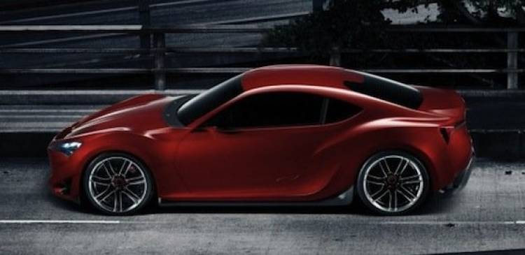 Scion FR-S, el clon del FT-86 para Estados Unidos