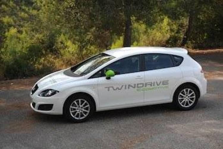 Seat Altea Electric XL Ecomotive y Seat León TwinDrive Ecomotive