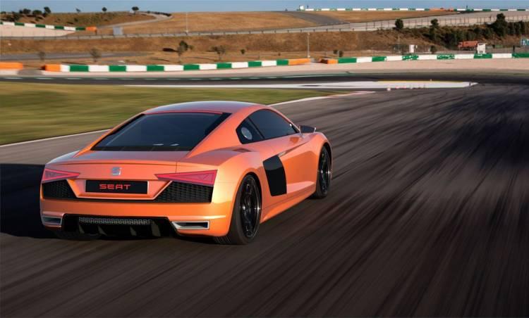Seat Audi R8 1