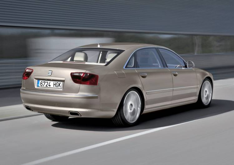 Audi A8L W12 quattro/Fahraufnahme