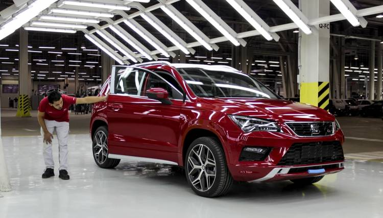 Seat Enhances Growth In Algeria With The Assembly Of The Ateca 002 Hq
