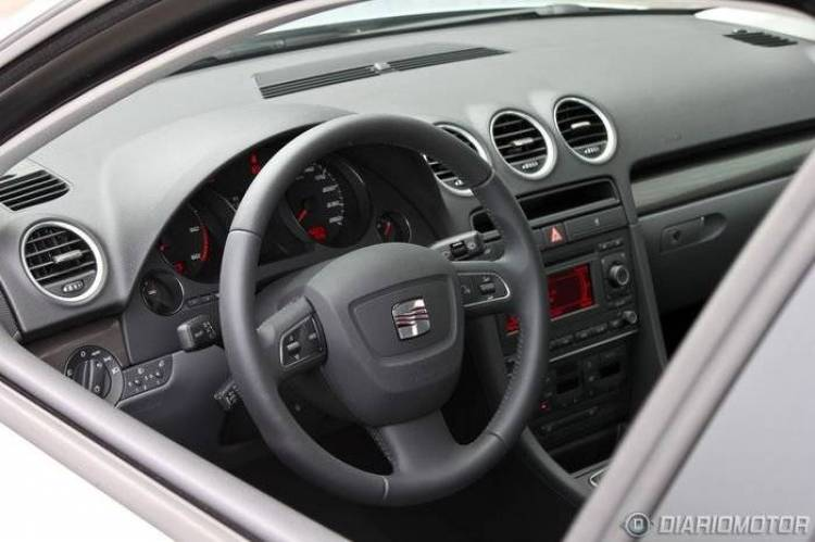 Seat Exeo 2.0 TDI 120 CV Reference, a prueba (II)