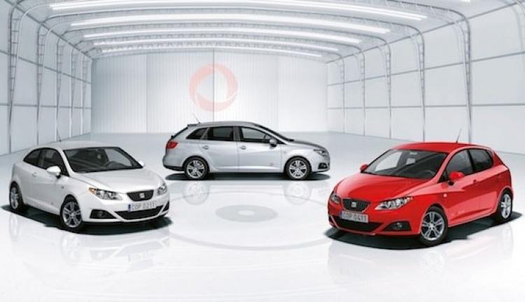 Seat Ibiza, Ibiza SC e Ibiza ST con paquete Copa
