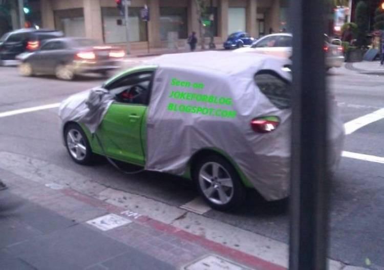 Fotos espía lavado de cara Seat Ibiza