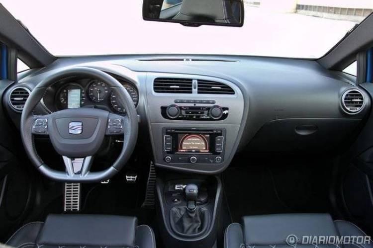 Seat León Cupra R, prueba de motor y prestaciones (II)