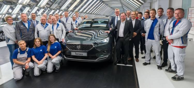 Seat Tarraco Production Starts In Wolfsburg P