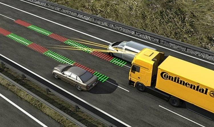 Frenada automática de emergencia, obligatoria en camiones y autobuses a partir de 2013
