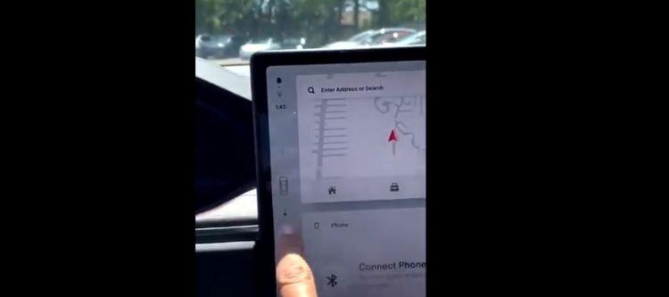 Selector Cambio Tesla Model S