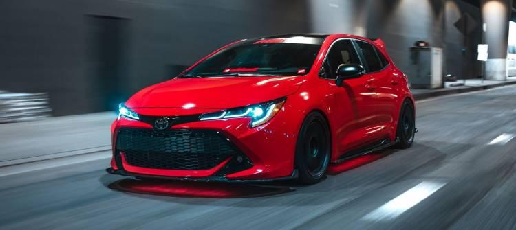 Sema Toyota Corolla 2019 P