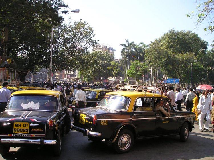 Semaforos Anti Ruido Bombay Ciudad India