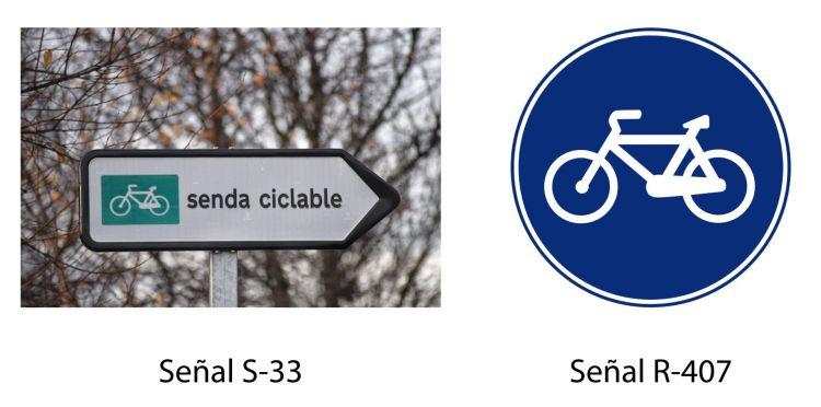 Senales Desconocidas Senda Ciclista