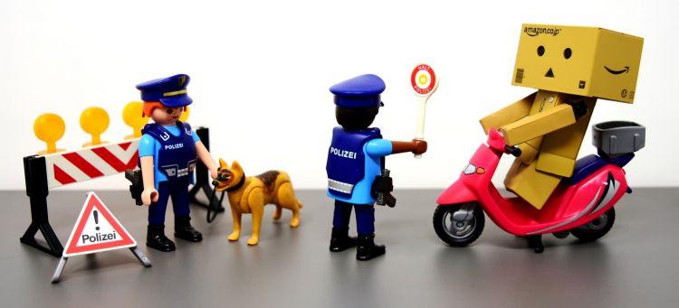 Significado Senales Ordenes Agente Control Policia Playmobil