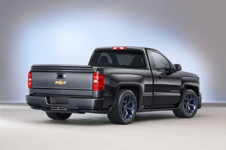 Chevrolet Silverado Cheyenne Concept, bajo peso, altas prestaciones y mucho músculo