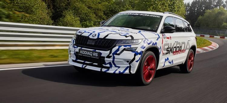 Skoda Kodiaq Rs Nurburgring 11
