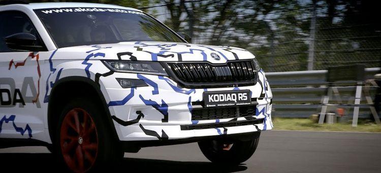 Skoda Kodiaq Rs Nurburgring Adelanto Video 00