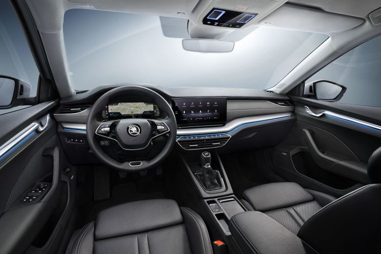 Skoda Octavia 2020 Interior 01