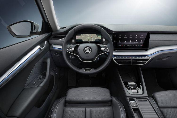 Skoda Octavia 2020 Interior 02