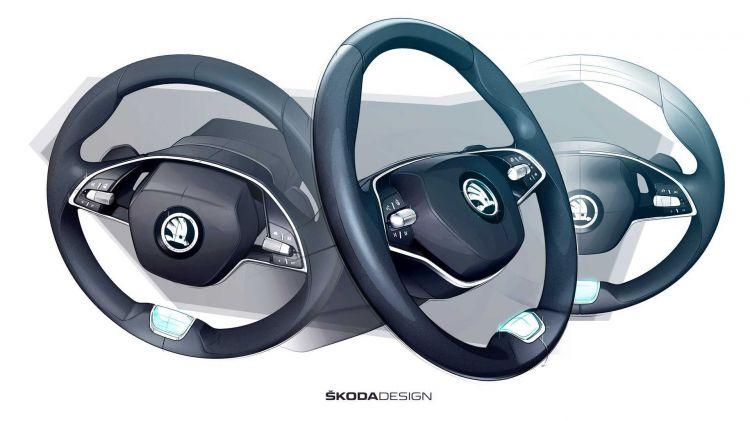 Skoda Octavia 2020 Teaser Interior 02