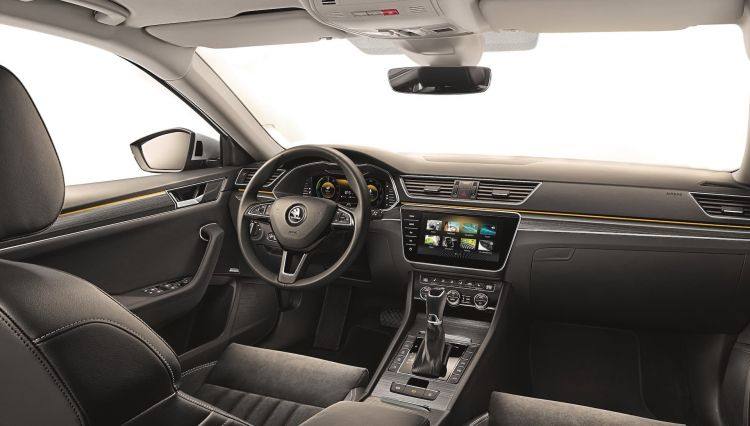 Skoda Superb 2020 Interior 2