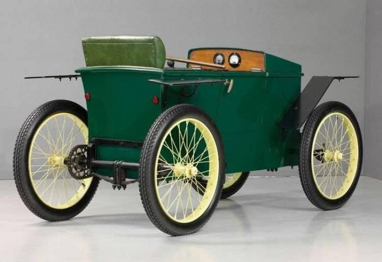 Slaby-Beringer, el antecesor del Audi Urban Concept data de 1919
