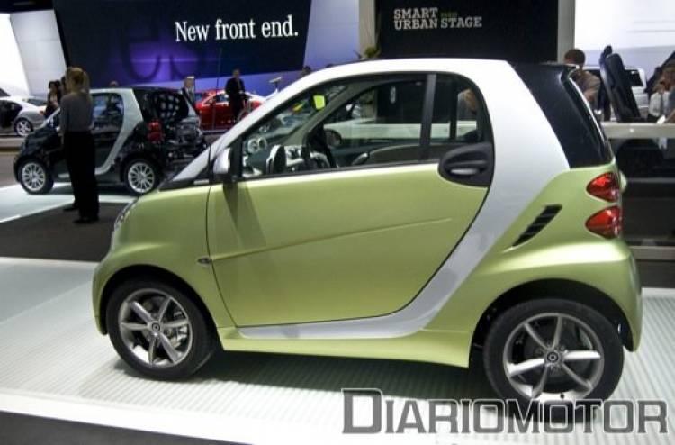 smart fortwo y smart cabrio en el Salón de París