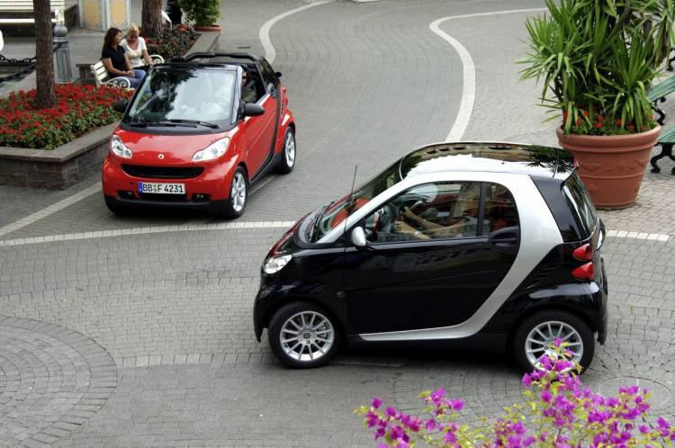 smart Fortwo y smart Fortwo Cabrio 2009