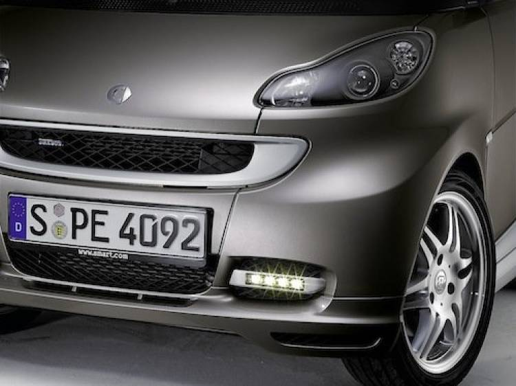 Accesorios Brabus Smart Fortwo, luces LED diurnas