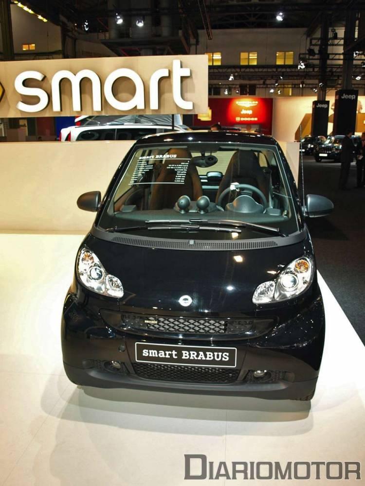 Smart Fortwo Brabus en el Salón de Barcelona