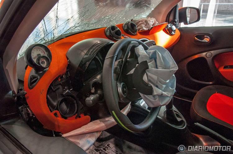 smart fortwo crash test