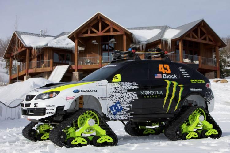 Subaru Impreza TRAX STI