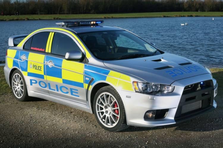 South Yorkshire Police Mitsubishi Lancer Evo X