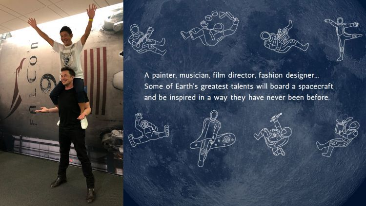Spacex Mision Artista Luna 02