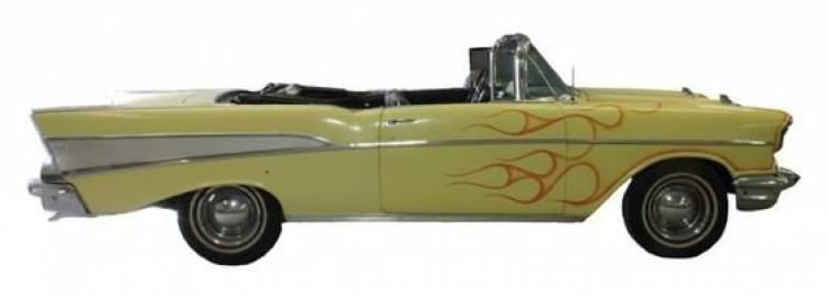 A subasta el 1957 Chevrolet Bel Air de Bruce Springsteen