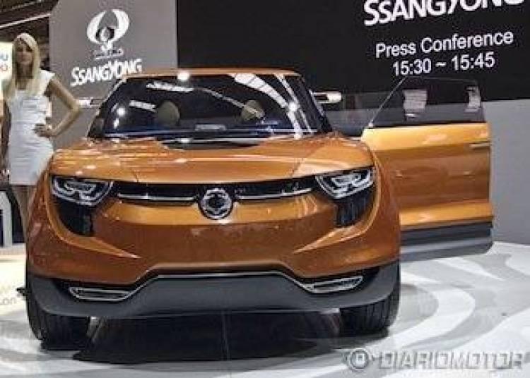 SsangYong XIV-1 Concept en Frankfurt